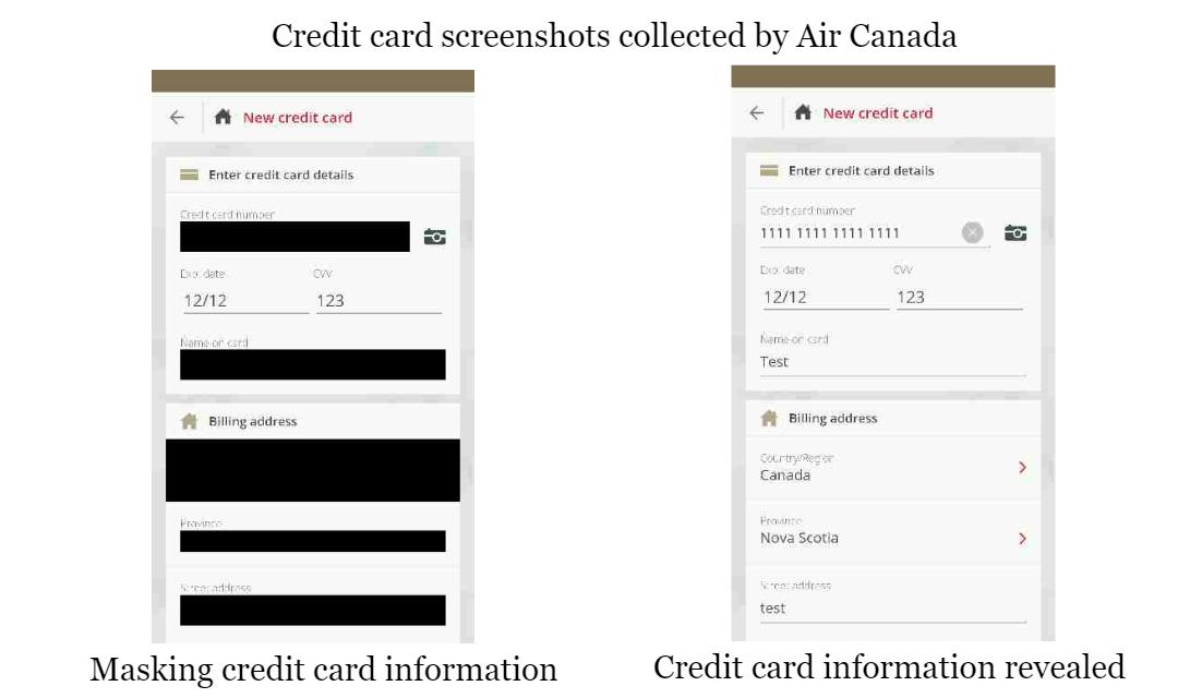 App Analysis: Air Canada